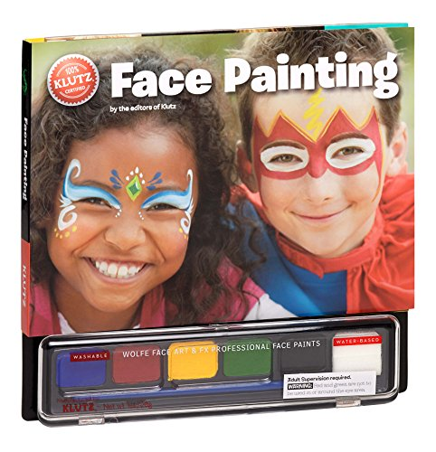 Klutz Face Painting Craft Kit (Best Halloween Face Painting Ideas)