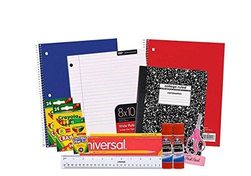 2nd Grade Box - First Through 5th Grade Basic Back To School Supplies Bundle
