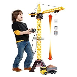 Toys R Us Fast Lane Mega Crane Set: Amazon.co.uk: Electronics