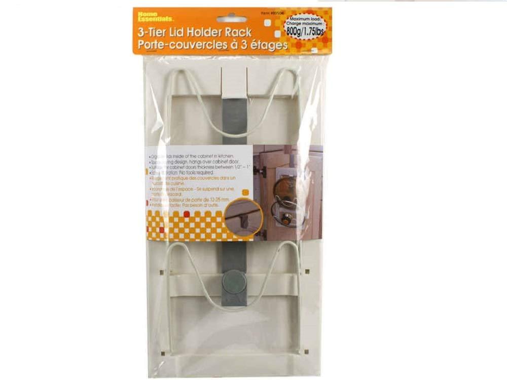 Essential H Over Cabinet Door Lid Cover Holder Rack