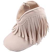 Gaorui Baby-Girls' Fringe Tassel Princess Boots Soft Sole Prewalker Shoes