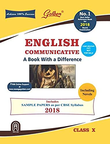 golden english comunicative a book with difference class 10 old rh amazon in CBSE Sample Papers CBSE Solution