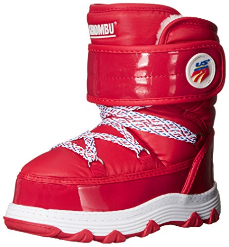 Toddler Team Ski Kid Lil Khombu Little Big Red Boot Moon Kid wFxaREpX