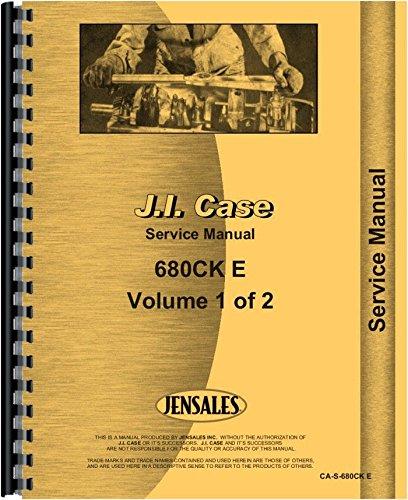 Download Case 680E Tractor Loader Backhoe Service Manual ebook
