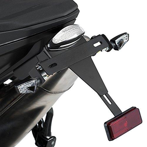 Support de Plaque + é clairage KTM 790 Duke 2018 Puig noir