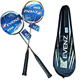 KEVENZ 12-Pack Goose Feather Badminton Shuttlecocks with Great Stability and Durability, High Speed Badminton Birdies Balls