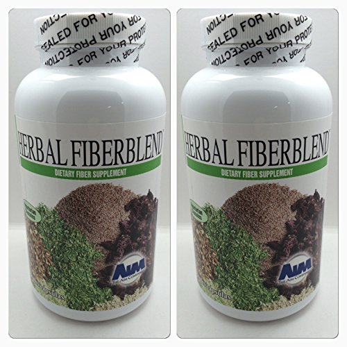AIM Herbal Fiberblend Capsules (Two Pack) 560 Capsules Total by AIM International