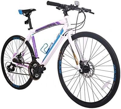 BAVEL Aluminum 21 Speed 700C Ultra Light Road Bike Racing Bicycle Shimano 48cm/51cm/54cm