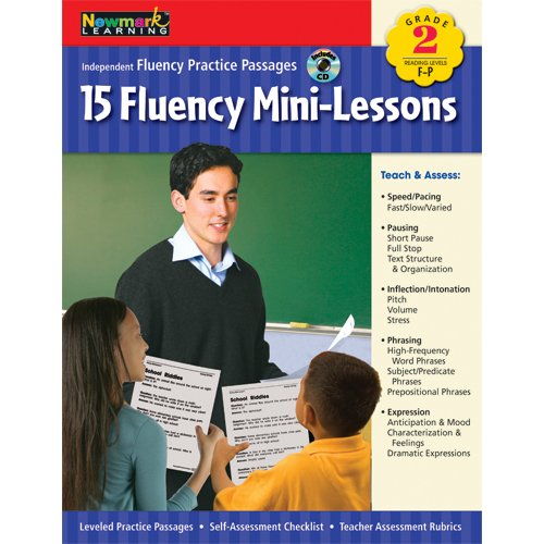 Fluency Mini-Lessons Grade 2 with Audio CD (Independent Fluency Practice Passages)