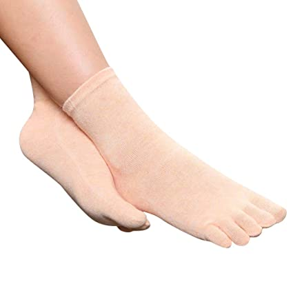 Underwear & Sleepwears 1 Pair New Autumn Winter Warm Style Unisx Men Women Five Finger Pure Cotton Toe Sock 6 Colors Special Buy