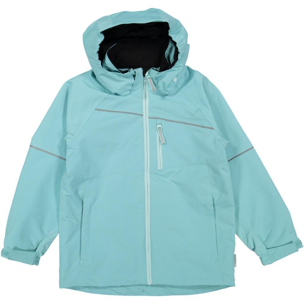 Polarn O. Pyret Shell Jacket (6-12YRS) - Nile Blue/7-8 Years