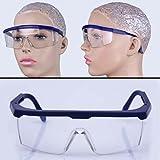 Amrka Safety Glasses Eye Protection Eyewear Goggles for Firing Range, Toy Gun Shooting, Airsoft, Nerf guns