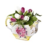 Talking Tables Truly Scrumptious Floral Vintager Teapot Vase Decoration for a Tea Party, Multicolored(TS3-TEAPOT)