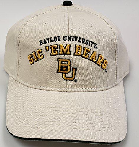 NCAA New Baylor Bears University Adjustable Buckle Back Cap by NCAA
