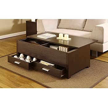 Amazon Com Knox Coffee Table This Contemporary Storage