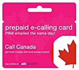 Prepaid Phone Card - Cheap International E-Calling Card $20 for Canada with