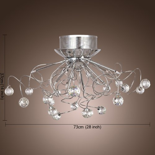Lightinthebox Modern Crystal Chandelier With 11 Lights