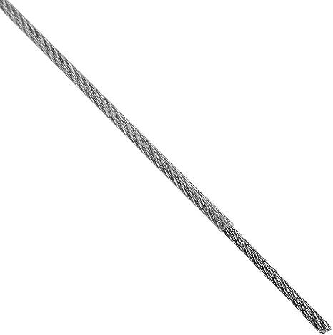 Neu Edelstahl-drahtseil kabel, Plastik Beschichtet ,10M