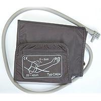 boso Zubehör - Universal Manschette für Blutdruck   Klettmanschette mit integriertem Schlauch   Zugbügelklettenmanschette 22-42 cm