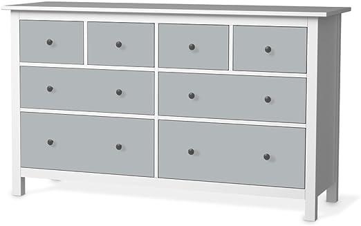 Ikea Hemnes Pour Commode 8 Tiroirs Gris 4 Design Autocollant Veritable Objet Decoratif Et Lumineux Amazon Fr Cuisine Maison
