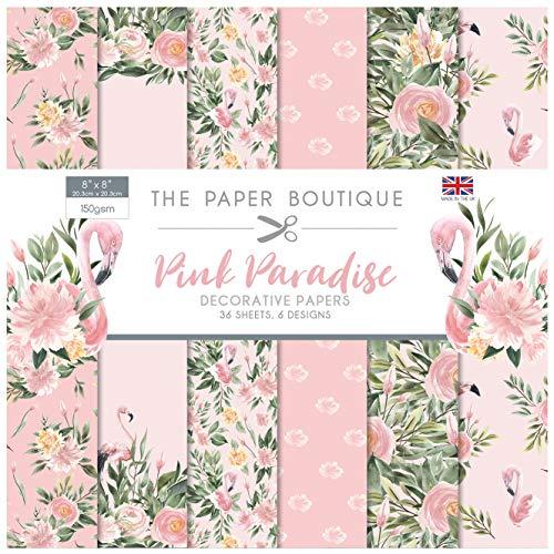 The Paper Boutique Pink Paradise 8x8 Paper Pad