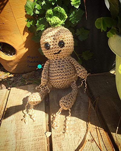 Mandrake Amigurumi Mandrake Crochet Root Harry by LaPetiteUnicorn ... | 500x401