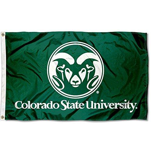 Colorado State Rams CSU University Large College Flag Colorado State University Blanket