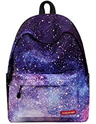 Runningtiger Unique Print Casual Backpacks For Womens Tennager Girls Kids School bags