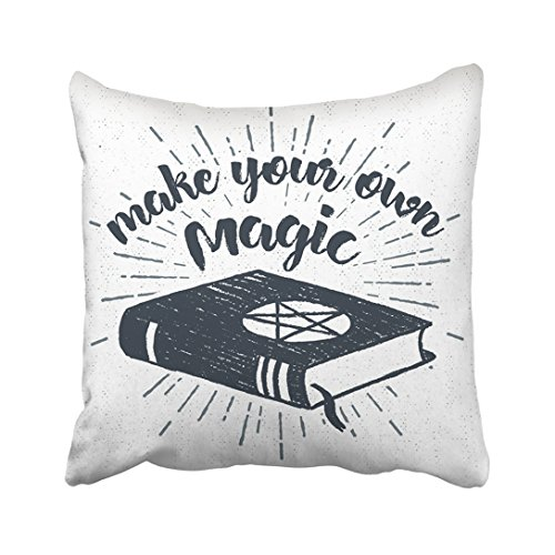 Emvency Throw Pillow Cover Polyester 20X20 Inches Black