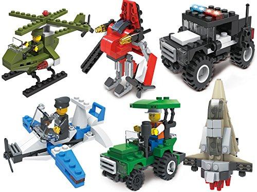 Gimpo City Series Creative Building Blocks Bricks Toys Kits