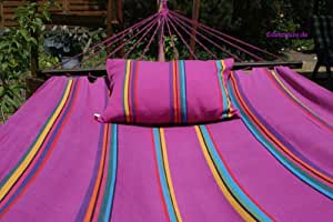 Hammock LILA LAUNE with wodden stand Royal 410 cm
