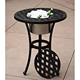 Darlee Series 30 Patio 21'' Round End Table in Antique Bronze