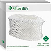 FilterBuy Holmes HWF62 Compatible Humidifier Filter. Replacement for part # HWF62, HWF62D, HWF-62. Fits Holmes Models HM1701, HM1761, HM1300 & HM1100. Designed by AFB in the USA.