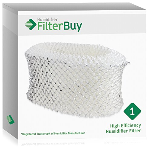 (FilterBuy Replacement Humidifier Filter Compatible with Holmes HWF62. Replacement for part # HWF62, HWF62D, HWF-62 & Hamilton Beach Part # 05910)