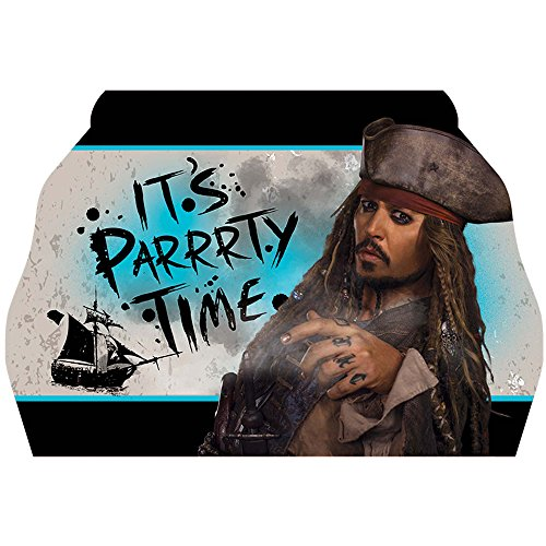 Pirates of the Caribbean 'Dead Men Tell No Tales' Invitations w/ Envelopes