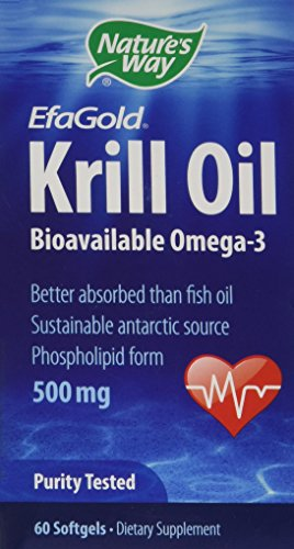 Krill Oil 500mg 60 Softgels