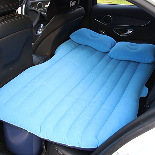Yoton Accesorios Interiores Universal Asiento de Coche Cama Hinchable colchón Exterior Cama sofá Cama Aire, Azul Claro