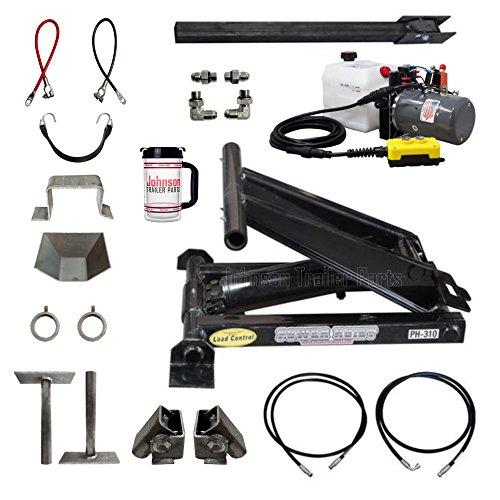 3 Ton (6,000 lb) Dump Trailer Hydraulic Scissor Hoist Kit   PH310   Perfect for Dump Trucks & Trailers (Standard)