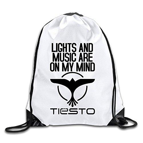 EUNICORN SG Tiesto DJ LOGO Snapback Gym Sack Bag Drawstring Backpack Sport - Oakley Sg