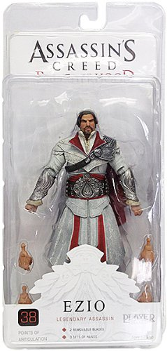 Neca - Assassin's Creed Brotherhood - Ezio Legendary assassin - (Assassin Creed Brotherhood Costumes In Game)