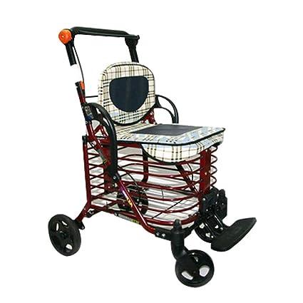 Shopping Trolley Carrello Per La Spesa Pieghevole Per Uomo Anziano
