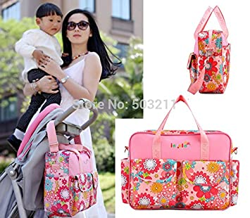 Amazon.com : Multifunctional Flower Messenger Hobos Tote ...