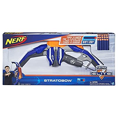 Nerf N-Strike StratoBow Bow: Toys & Games