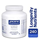 Pure Encapsulations – Longevity Nutrients – Multivitamin/Mineral Complex for Healthy Aging* – 240 Capsules