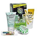 Tattoo Goo Aftercare Kit Includes Soap, New formula, Tattoo Goo, Lotion, Color Guard