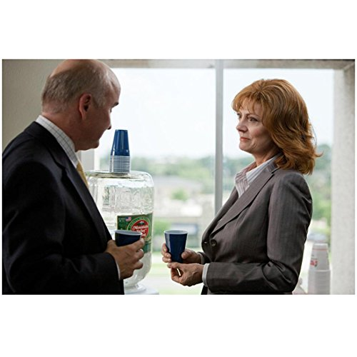 Jeff, Who Lives at Home (2011) 8 inch by 10 inch PHOTOGRAPH Susan Sarandon from Waist Up w/Blue Cup kn (Susan Cup)
