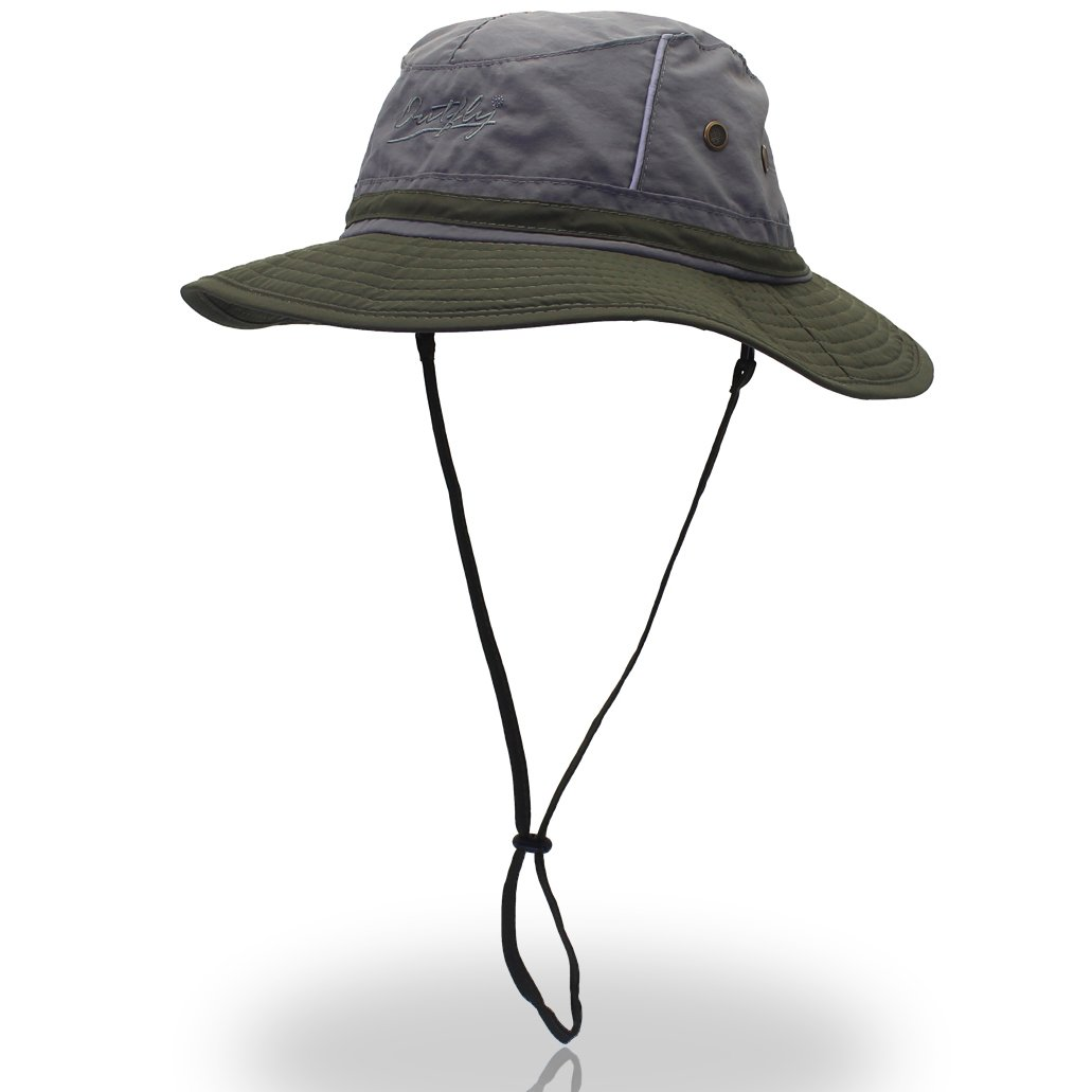 3e5e07559 outfly Unisex Reflective Fishing Hat Bucket Hat UPF50+ Hat for Summer Anti  Ultraviolet Bonnie Hats