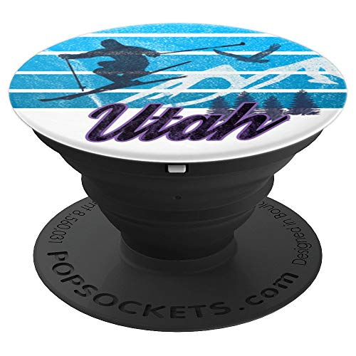 Grip Sun Valley - Utah Snowbird Park City Sun Deer Valley Sundance Ski Resort - PopSockets Grip and Stand for Phones and Tablets