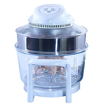 DLT Horno de freidora, Cocina Saludable sin Aceite Freidora Digital de Barrido por convección Horno