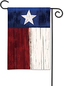 BreezeArt Studio M Lone Star State Decorative Texas Garden Flag – Premium Quality, 12.5 x 18 Inches